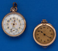 Timepieces:Pendant , Two - Ladies Open Face Pendant Watches. ... (Total: 2 Items)