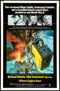 "Movie Posters:War, Where Eagles Dare (MGM, 1968). One Sheet (27"" X 41"") Style M. War....."