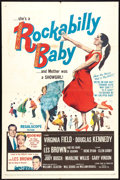 "Movie Posters:Rock and Roll, Rockabilly Baby (20th Century Fox, 1957). One Sheet (27"" X 41"").Rock and Roll.. ..."