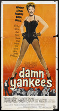 "Movie Posters:Musical, Damn Yankees! (Warner Brothers, 1958). Three Sheet (41"" X 81""). Musical.. ..."