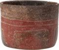 Antiques:Antiquities, Olmec Bowl in Zoned Bichrome...