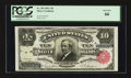 Large Size:Silver Certificates, Fr. 299 $10 1891 Silver Certificate PCGS Gem New 66.. ...