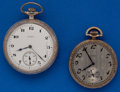 Timepieces:Pocket (post 1900), Elgin Pocket Watches, 12 & 16 Sizes. ... (Total: 2 Items)