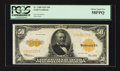 Large Size:Gold Certificates, Fr. 1200 $50 1922 Gold Certificate PCGS Choice About New 58PPQ.. ...