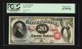Large Size:Legal Tender Notes, Fr. 129 $20 1878 Legal Tender PCGS Superb Gem New 67PPQ.. ...