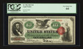 Large Size:Legal Tender Notes, Fr. 95b $10 1863 Legal Tender PCGS Very Choice New 64.. ...
