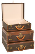 Luxury Accessories:Travel/Trunks, Three Louis Vuitton Small Constellation Canvas Cases. ... (Total: 3Items)