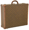 Luxury Accessories:Travel/Trunks, Louis Vuitton Classic Monogram Bisten 60 Suitcase. ...