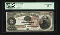 Large Size:Treasury Notes, Fr. 353 $2 1890 Treasury Note PCGS Choice About New 55.. ...