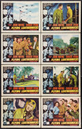 """Movie Posters:War, Flying Leathernecks (RKO, 1951). Lobby Card Set of 8 (11"""" X 14"""").War.. ... (Total: 8 Items)"""