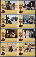 """Movie Posters:Western, The Life and Times of Judge Roy Bean (National General, 1972). Lobby Card Set of 8 (11"""" X 14""""). Western.. ... (Total: 8 Items)"""