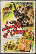 "Movie Posters:Documentary, Jungle of Chang (RKO, 1951). One Sheet (27"" X 41""). Documentary....."
