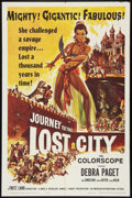 "Movie Posters:Adventure, Journey to the Lost City (American International, 1960). One Sheet(27"" X 41""). Adventure.. ..."