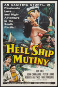 "Movie Posters:Adventure, Hell Ship Mutiny (Republic, 1957). One Sheet (27"" X 41"").Adventure.. ..."