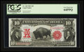 Large Size:Legal Tender Notes, Fr. 120 $10 1901 Legal Tender PCGS Very Choice New 64PPQ.. ...