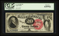 Large Size:Legal Tender Notes, Fr. 135 $20 1880 Legal Tender PCGS Choice New 63PPQ.. ...