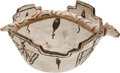 American Indian Art:Pottery, A ZUNI POLYCHROME TERRACED BOWL. c. 1900...