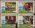 "Movie Posters:Adventure, River of No Return (20th Century Fox, 1954). Lobby Cards (4) (11"" X14""). Adventure.. ... (Total: 4 Items)"
