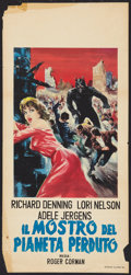 """Movie Posters:Science Fiction, Day the World Ended (American Releasing Corp., 1961). Italian Locandina (13"""" X 27""""). Science Fiction.. ..."""