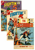 Silver Age (1956-1969):Adventure, The Fightin' Five/Peacemaker Group (Charlton, 1964-67) Condition: Average VF-.... (Total: 17 Comic Books)