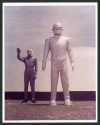 "The Day the Earth Stood Still (1980s). Re-Strike Color Photos (11) (8"" X 10""). Science Fiction. ... (Total: 11..."