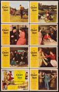 "Movie Posters:Drama, The Quiet Man (Republic, 1952). Lobby Card Set of 8 (11"" X 14"").Drama.. ... (Total: 8 Items)"