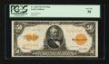 Large Size:Gold Certificates, Fr. 1200 $50 1922 Mule Gold Certificate PCGS Very Fine 30.. ...