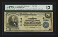 National Bank Notes:Maryland, Annapolis, MD - $20 1902 Plain Back Fr. 650 The Farmers NB Ch. #(E)1244. ...