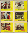 "Movie Posters:Western, The Magnificent Seven (United Artists, 1960). Lobby Cards (6) (11"" X 14""). Western.. ... (Total: 6 Items)"