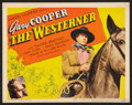 "Movie Posters:Western, The Westerner (United Artists, 1940). Title Lobby Card (11"" X 14""). Western.. ..."