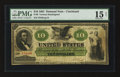 Large Size:Demand Notes, Fr. 9 $10 1861 Demand Note PMG Choice Fine 15 Net.. ...