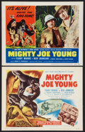 "Movie Posters:Adventure, Mighty Joe Young (RKO, 1949 and R-1953). Title Lobby Card and LobbyCard (11"" X 14""). Adventure.. ... (Total: 2 Items)"