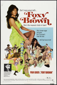 "Foxy Brown (American International, 1974). One Sheet (27"" X 41""). Blaxploitation"