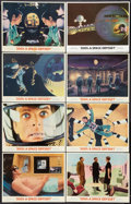 "Movie Posters:Science Fiction, 2001: A Space Odyssey (MGM, 1968 & R-1972). Lobby Cards (8)(11"" X 14""). Science Fiction.. ... (Total: 8 Items)"