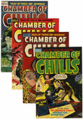 Golden Age (1938-1955):Horror, Chamber of Chills Group (Harvey, 1952-54).... (Total: 4 ComicBooks)