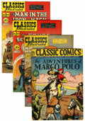 Golden Age (1938-1955):Classics Illustrated, Classics Illustrated and Classic Comics First Edition Group(Gilberton, 1946-51).... (Total: 12 Comic Books)