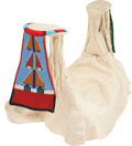 American Indian Art:Beadwork and Quillwork, A CROW WOMAN'S BEADED HIDE PARADE SADDLE. c. 1950...