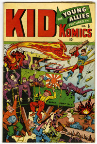 Kid Komics #6 (Timely, 1944) Condition: FN-