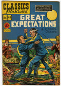 Golden Age (1938-1955):Classics Illustrated, Classics Illustrated #43 Great Expectations - Original Edition (Gilberton, 1947) Condition: FN....