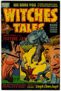 Golden Age (1938-1955):Horror, Witches Tales #13 (Harvey, 1952) Condition: FN/VF....