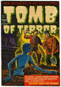 Golden Age (1938-1955):Horror, Tomb of Terror #6 (Harvey, 1952) Condition: VF-....