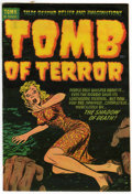 Golden Age (1938-1955):Horror, Tomb of Terror #7 (Harvey, 1953) Condition: VF....