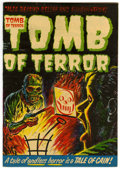 Golden Age (1938-1955):Horror, Tomb of Terror #12 (Harvey, 1953) Condition: VF....