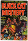 Golden Age (1938-1955):Horror, Black Cat Mystery #36 (Harvey, 1952) Condition: FN/VF....