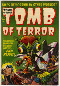 Golden Age (1938-1955):Horror, Tomb of Terror #14 (Harvey, 1954) Condition: VG+....