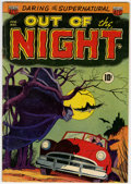 Golden Age (1938-1955):Horror, Out of the Night #1 (ACG, 1952) Condition: VG+....
