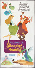 "Movie Posters:Animated, Sleeping Beauty (Buena Vista, R-1970). Three Sheet (41"" X 81"") FlatFolded. Animated.. ..."