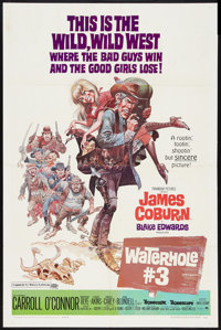 """Waterhole No. 3 Lot (Paramount, 1967). One Sheets (3) (27"""" X 41""""). Western. ... (Total: 3 Items)"""