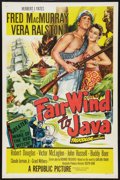 "Movie Posters:Adventure, Fair Wind to Java & Others Lot (Republic, 1953). One Sheets (2)(27"" X 41""), Title Lobby Card & Lobby Cards (4) (11"" X 14"")....(Total: 7 Items)"