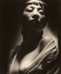 Photographs:20th Century, GEORGE HURRELL (American, 1904-1992). Anna Mae Wong, 1938.Gelatin silver, circa 1980s. Paper: 24-1/4 x 20 inches (61.6 ...